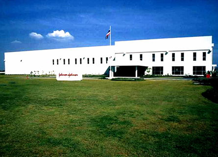 Johnson & Johnson Manufacturing Plant
